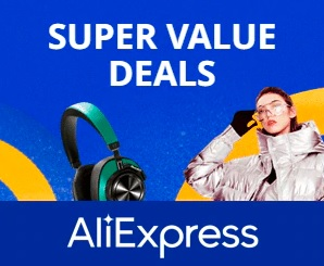 Aliexpress Super vertės pasiūlymai