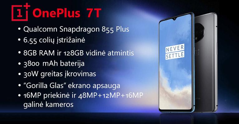 OnePlus 7T telefonas