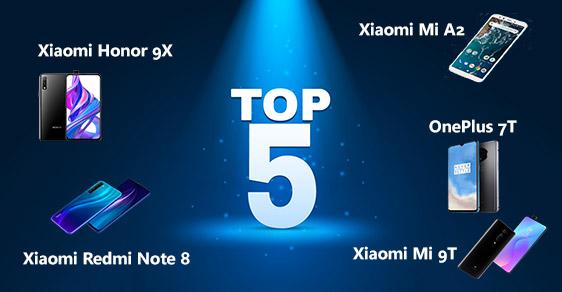 TOP 5 Geriausi kiniški telefonai 2020 m.