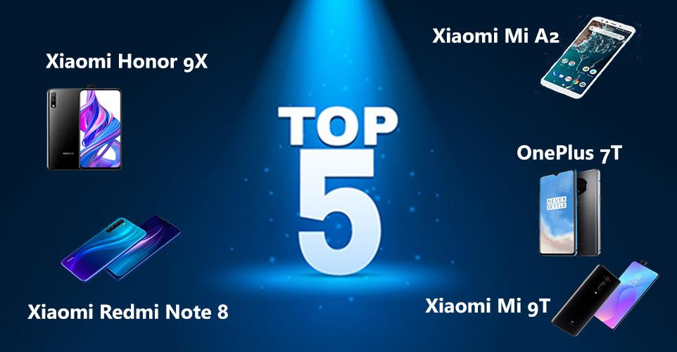 Top 5 Kiniški telefonai