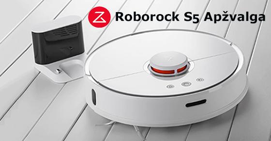 Xiaomi Roborock S5 robotas siurblys